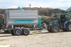 Remorca de biomasa