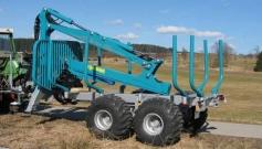 Remorca forestiera 9 tone